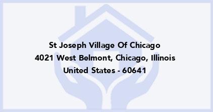St Joseph Village Of Chicago
