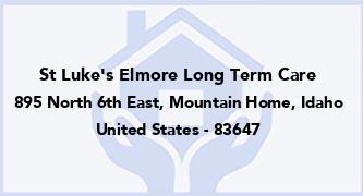 St Luke'S Elmore Long Term Care