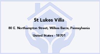 St Lukes Villa