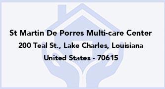 St Martin De Porres Multi-Care Center