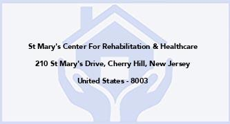 St Mary'S Center For Rehabilitation & Healthcare