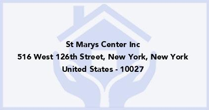 St Marys Center Inc
