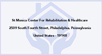 St Monica Center For Rehabilitation & Healthcare
