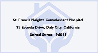 St. Francis Heights Convalescent Hospital