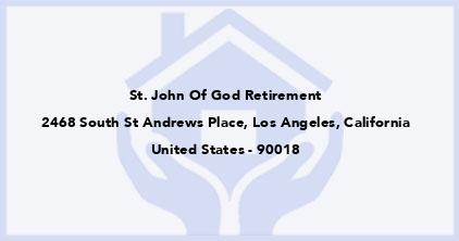 St. John Of God Retirement