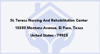 St. Teresa Nursing And Rehabilitation Center