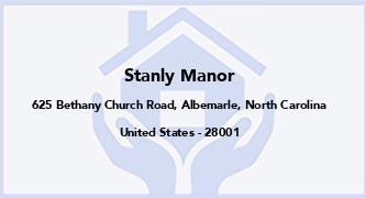 Stanly Manor