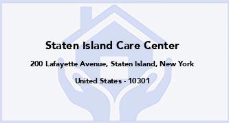 Staten Island Care Center