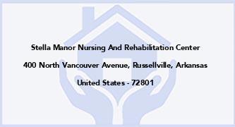 Stella Manor Nursing And Rehabilitation Center
