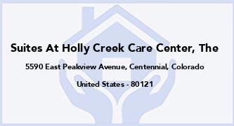Suites At Holly Creek Care Center, The