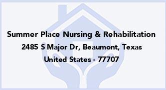 Summer Place Nursing & Rehabilitation