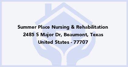 Summer Place Nursing & Rehabilitation