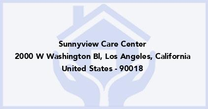 Sunnyview Care Center