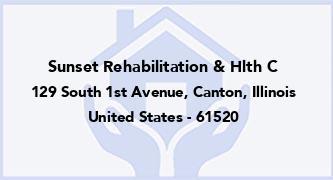 Sunset Rehabilitation & Hlth C