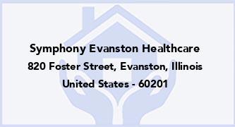 Symphony Evanston Healthcare