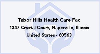 Tabor Hills Health Care Fac