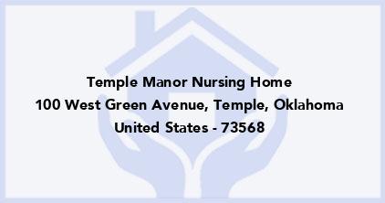 Temple Manor Nursing Home