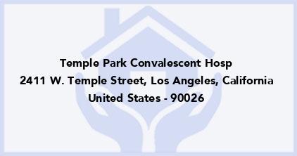Temple Park Convalescent Hosp