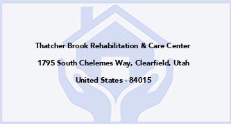 Thatcher Brook Rehabilitation & Care Center