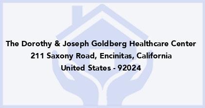 The Dorothy & Joseph Goldberg Healthcare Center