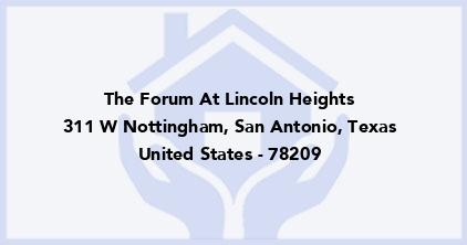 The Forum At Lincoln Heights
