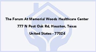 The Forum At Memorial Woods Healthcare Center