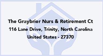 The Graybrier Nurs & Retirement Ct