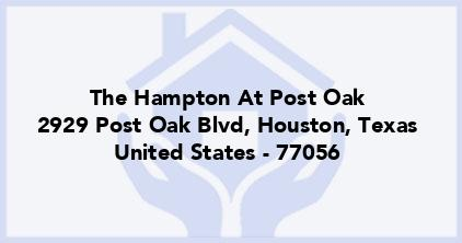 The Hampton At Post Oak