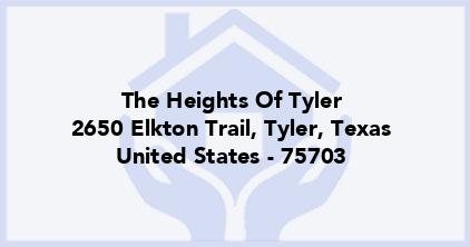 The Heights Of Tyler