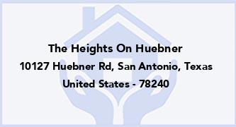 The Heights On Huebner