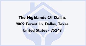 The Highlands Of Dallas