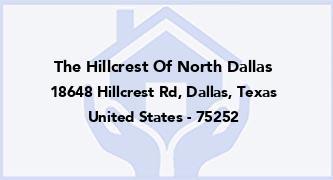 The Hillcrest Of North Dallas