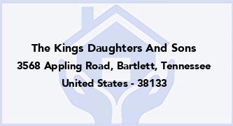 The Kings Daughters And Sons