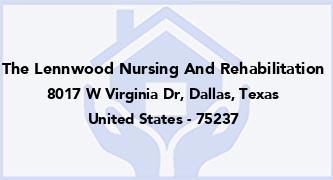 The Lennwood Nursing And Rehabilitation