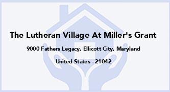 The Lutheran Village At Miller'S Grant
