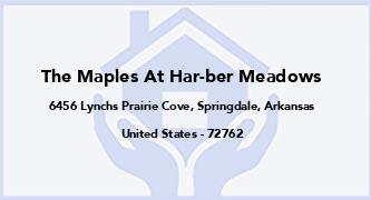 The Maples At Har-Ber Meadows