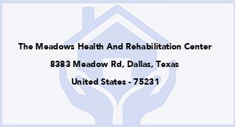 The Meadows Health And Rehabilitation Center