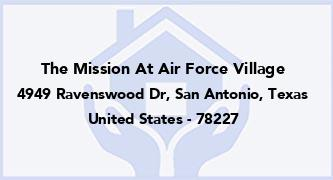The Mission At Air Force Village