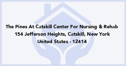 The Pines At Catskill Center For Nursing & Rehab