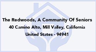The Redwoods, A Community Of Seniors