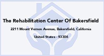 The Rehabilitation Center Of Bakersfield
