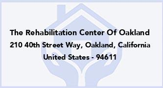 The Rehabilitation Center Of Oakland