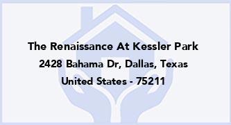 The Renaissance At Kessler Park