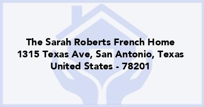 The Sarah Roberts French Home