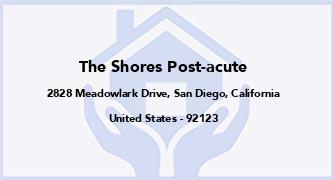 The Shores Post-Acute