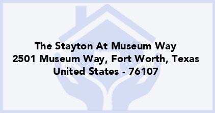 The Stayton At Museum Way
