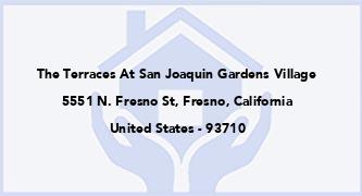 The Terraces At San Joaquin Gardens Village