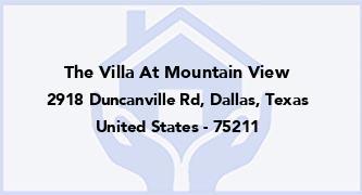 The Villa At Mountain View