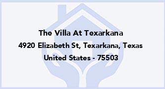 The Villa At Texarkana