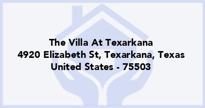 The Villa At Texarkana